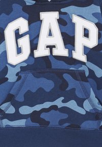 GAP - TODDLER BOY LOGO - Bluza z kapturem - blue - 2