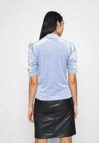 Monki - NARIN TOP - Long sleeved top - blue - 2
