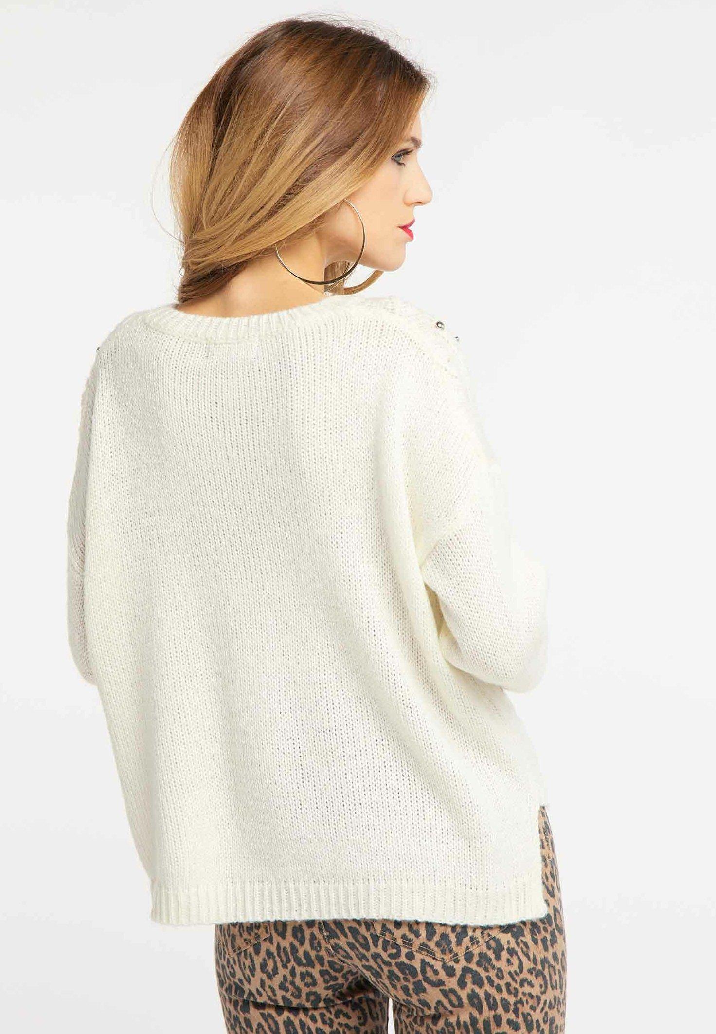 For Cheap Women's Clothing faina Jumper white OBmvZhqot