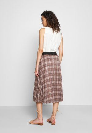 CHARLIZE SKIRT - Gonna a campana - sierra