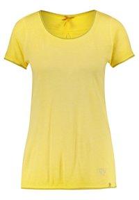 "Key Largo - KEY LARGO DAMEN T-SHIRT ""BASE"" - Print T-shirt - yellow - 0"