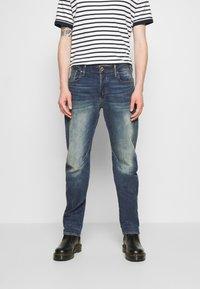 G-Star - WOKKIE - Slim fit jeans - elto pure stretch denim-antic faded baum blue - 0