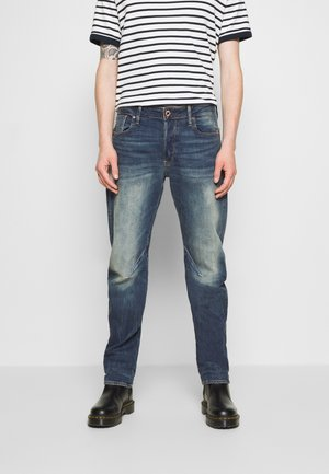 WOKKIE - Jean slim - elto pure stretch denim-antic faded baum blue