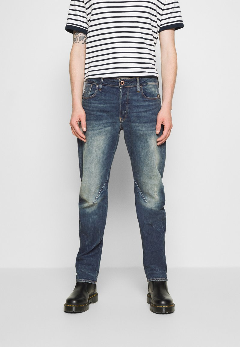 G-Star - WOKKIE - Slim fit jeans - elto pure stretch denim-antic faded baum blue