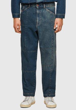 FRAN - Jeans a sigaretta - medium blue