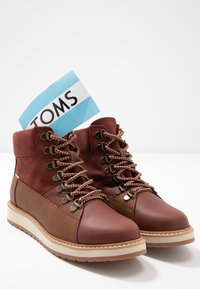 TOMS - MESA - Lace-up ankle boots - brown - 7