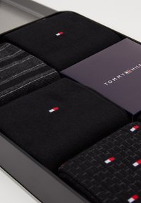Tommy Hilfiger - SOCK FINE STRIPE GIFTBOX 5 PACK - Calcetines - black - 2