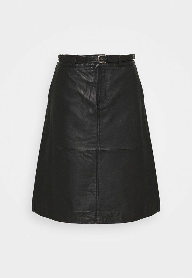 SLFKIM SKIRT  - Spódnica trapezowa - black