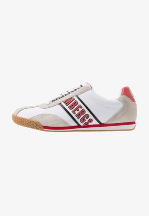 ENEA - Sneakersy niskie - white/red/black