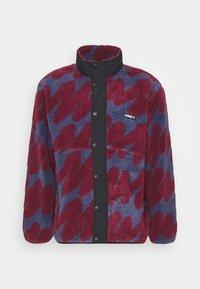 Obey Clothing - HENSE SHERPA JACKET - Fleece jacket - purple/multi - 0