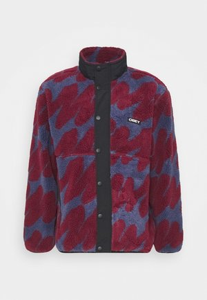 HENSE SHERPA JACKET - Fleece jacket - purple/multi