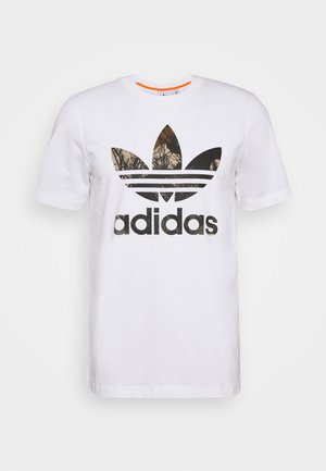 CAMO TEE - Camiseta estampada - white