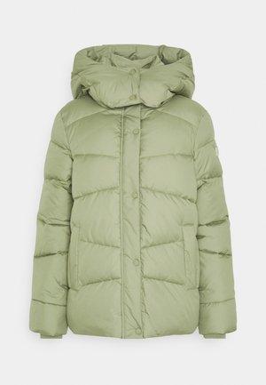 Zimní bunda - greyish green