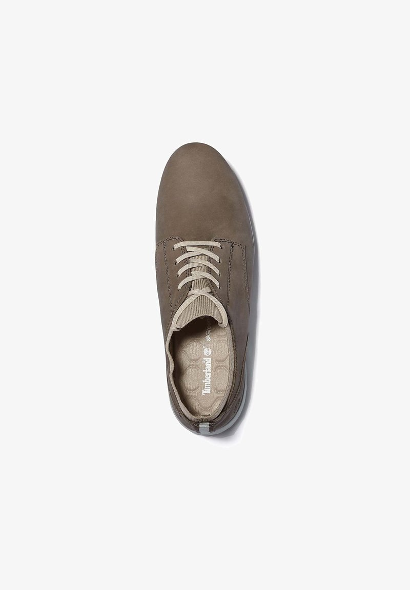 Timberland - BRADSTREET ULTRA OXFORD - Casual lace-ups - taupe gray