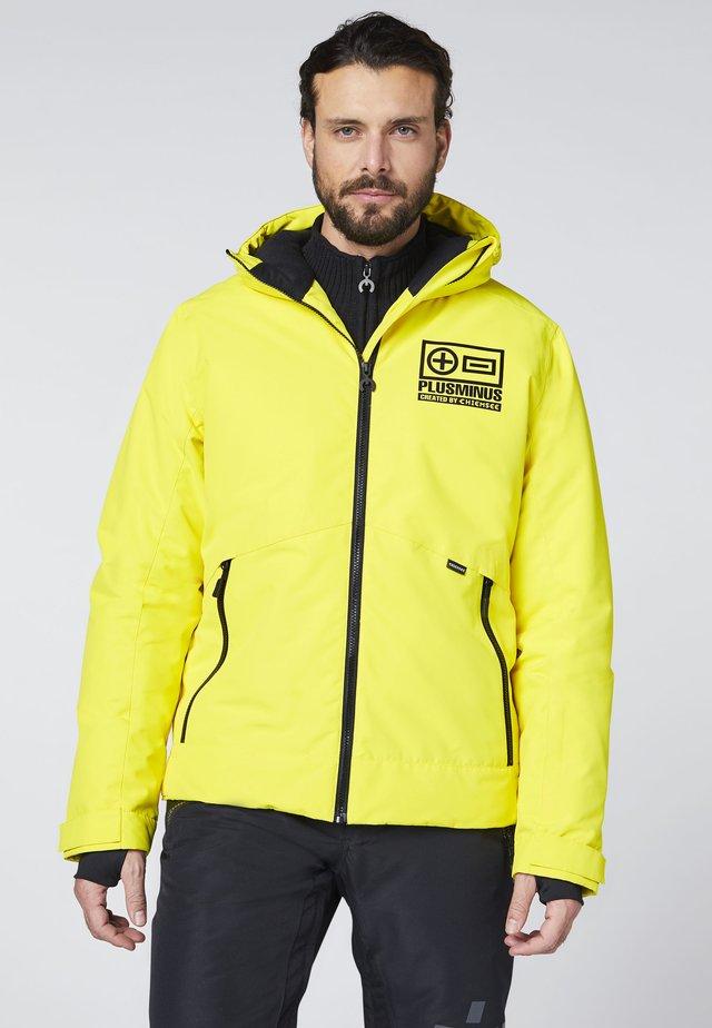 MIT GROSSEM PLUSMINUS  - Light jacket - yellow