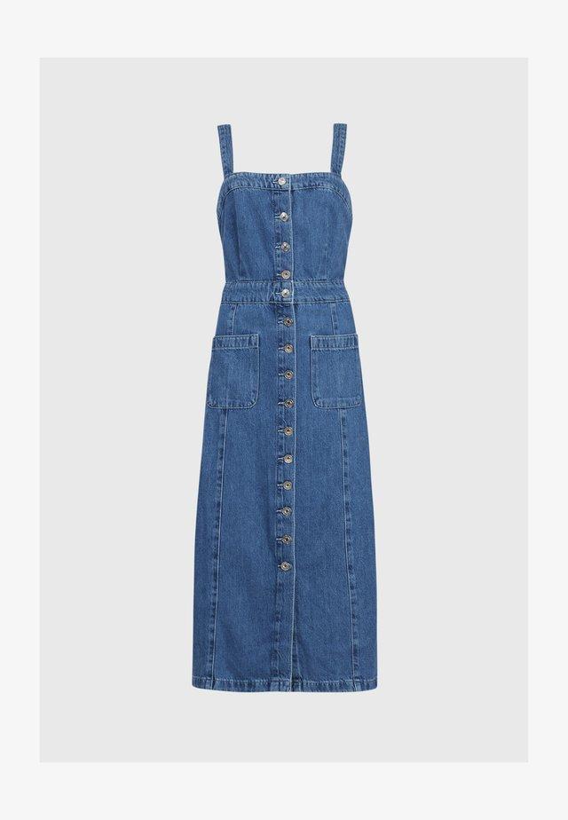 ELSIE - Denim dress - blue