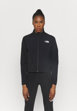 LINED BOMBER JACKET - Outdoor jacket - black