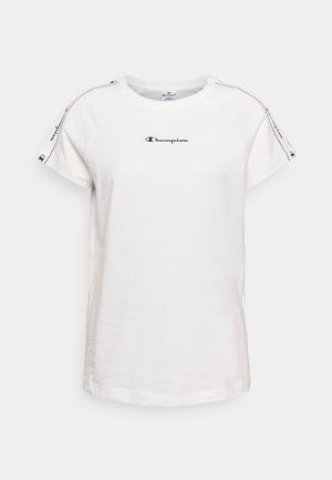 CREWNECK - T-shirt med print - white