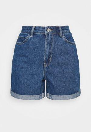 ONLVEGA LIFE MOM - Shorts vaqueros - medium blue denim