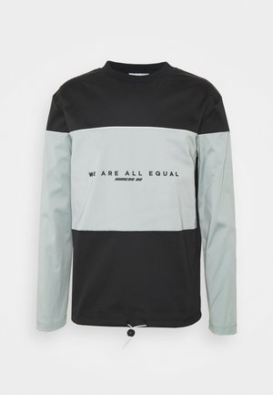 Sweatshirt - black/grey