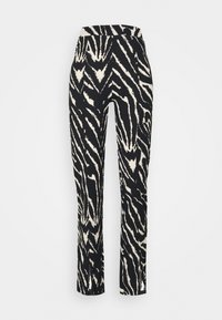 Monki - AIRY TROUSERS - Trousers - white/black - 3