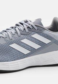 adidas Performance - DURAMO  - Scarpe running neutre - halo silver/footwear white/grey three - 5