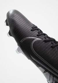 Nike Performance - MERCURIAL 7 ACADEMY FG/MG - Moulded stud football boots - black/metallic cool grey/blue fury/cool grey - 5