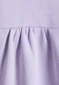 Pieces Petite - PCRIBBA LS HOODIE BC PETITE - Hoodie - purple heather - 2