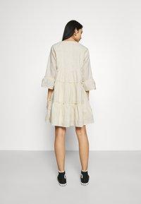 Colourful Rebel - INDY BOHO DRESS WOMEN  - Day dress - beige - 2