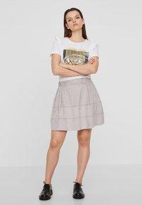 Noisy May - NMLAUREN  - A-line skirt - grey - 1