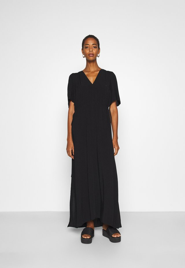 SLFWYNONA-DAMINA ANKLE SLIT - Maxi dress - black