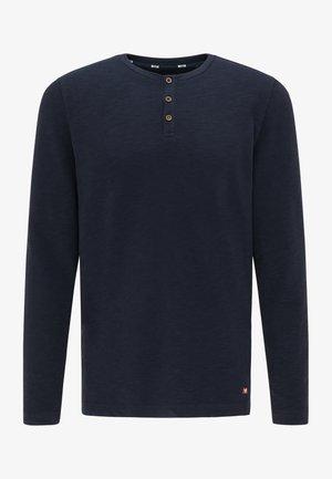 LONG SLEEVE - Long sleeved top - blau