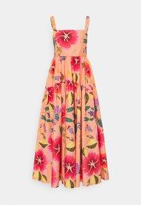 Farm Rio - FLORAL SEA MIDI DRESS - Day dress - multi coloured - 5