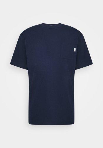 CHEST POCKET - Basic T-shirt - night