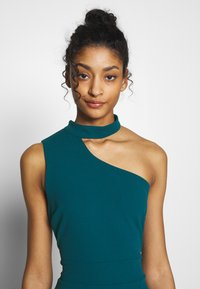 WAL G. - HALTER NECK WITH STRAP DRESS - Vestido de fiesta - teal blue - 3