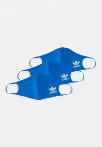 adidas Originals - FACE 3 PACK UNISEX - Tygmasker - bluebird - 0