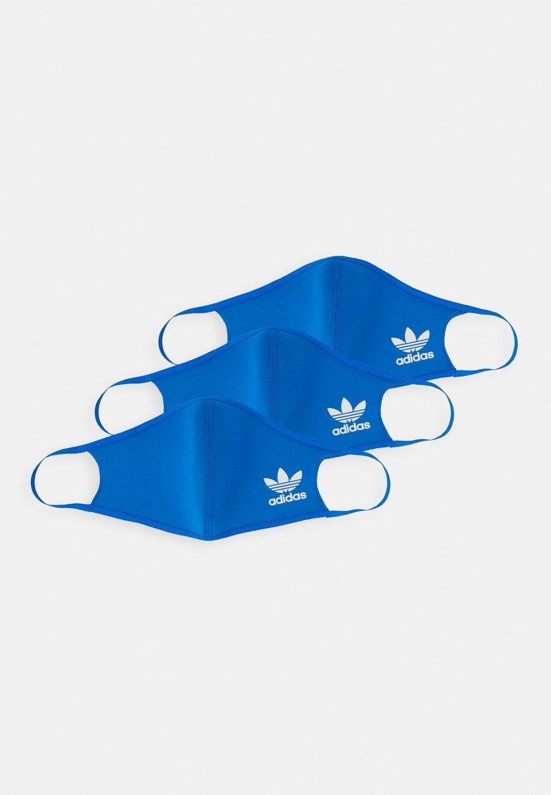 adidas Originals - FACE 3 PACK UNISEX - Stoffen mondkapje - bluebird