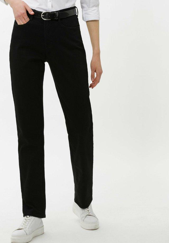 STYLE CAROLA - Jeans Straight Leg - black