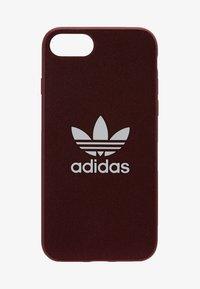 adidas Originals - MOULDED CASE CANVAS  IPHONE 6/6S/7/8 - Étui à portable - maroon/white - 1