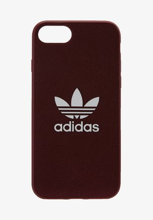 MOULDED CASE CANVAS  IPHONE 6/6S/7/8 - Phone case - maroon/white