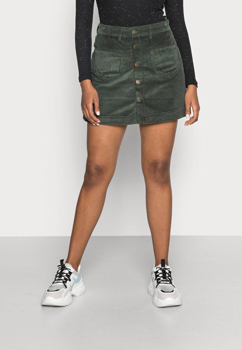 ONLY - ONLAMAZING LIFE SKIRT - A-line skirt - green gables