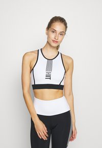 HIIT - LONGLINE BRALET  - Sports bra - black - 0