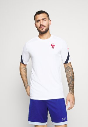 FRANKREICH FFF - Equipación de selecciones - white/blackened blue/university red