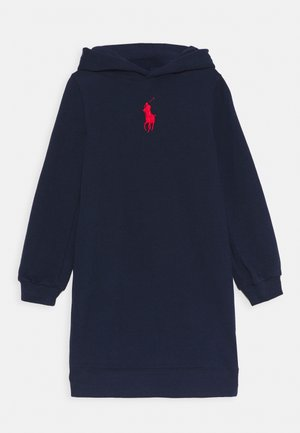 HOOD DRESS - Day dress - french navy