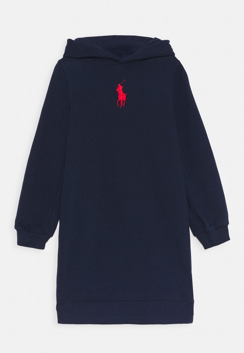 Polo Ralph Lauren - HOOD DRESS - Day dress - french navy