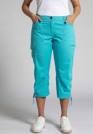 Cargo trousers - tiefes aqua