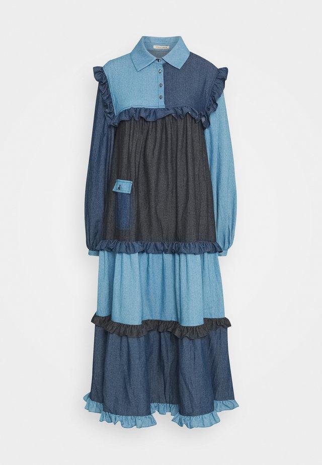 Denim dress - blue mix
