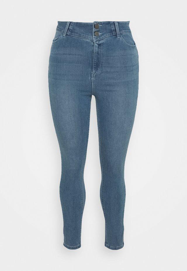 BOOTY SHAPER POWERSTRETCH - Skinny džíny - vintage blue