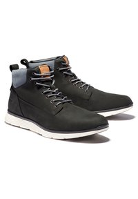 Timberland - KILLINGTON CHUKKA - Lace-up boots - black nubuck w cord - 2