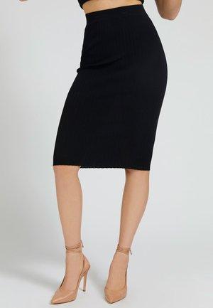 Falda de tubo - schwarz